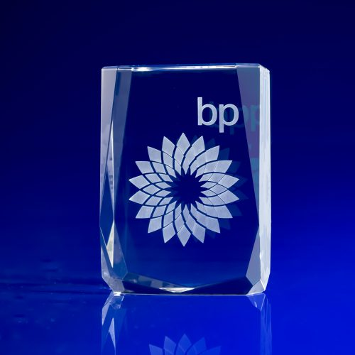 Chamonix Award - 3D Crystal art
