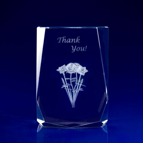 Chamonix Crystal Award Recognition Gifts