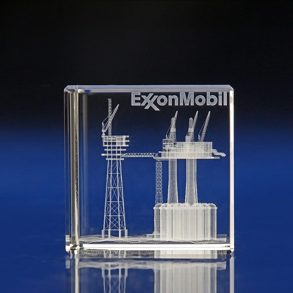 Crystal Cube Award, cube awards, crystal awards, corporate awards, 3D laser engraved awards, Laser Crystal