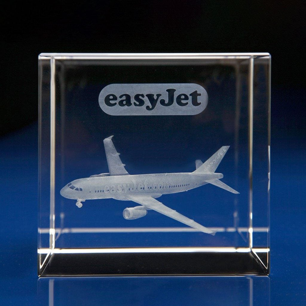 Cube Award - 3D aeroplane