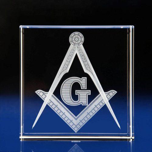 Cube Award -Masonsic Gifts