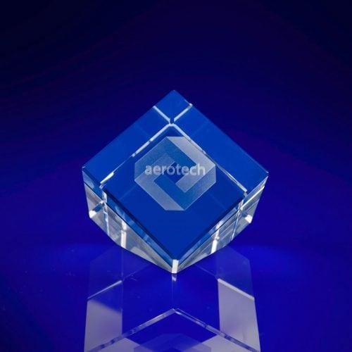 Cube Slant Crystal