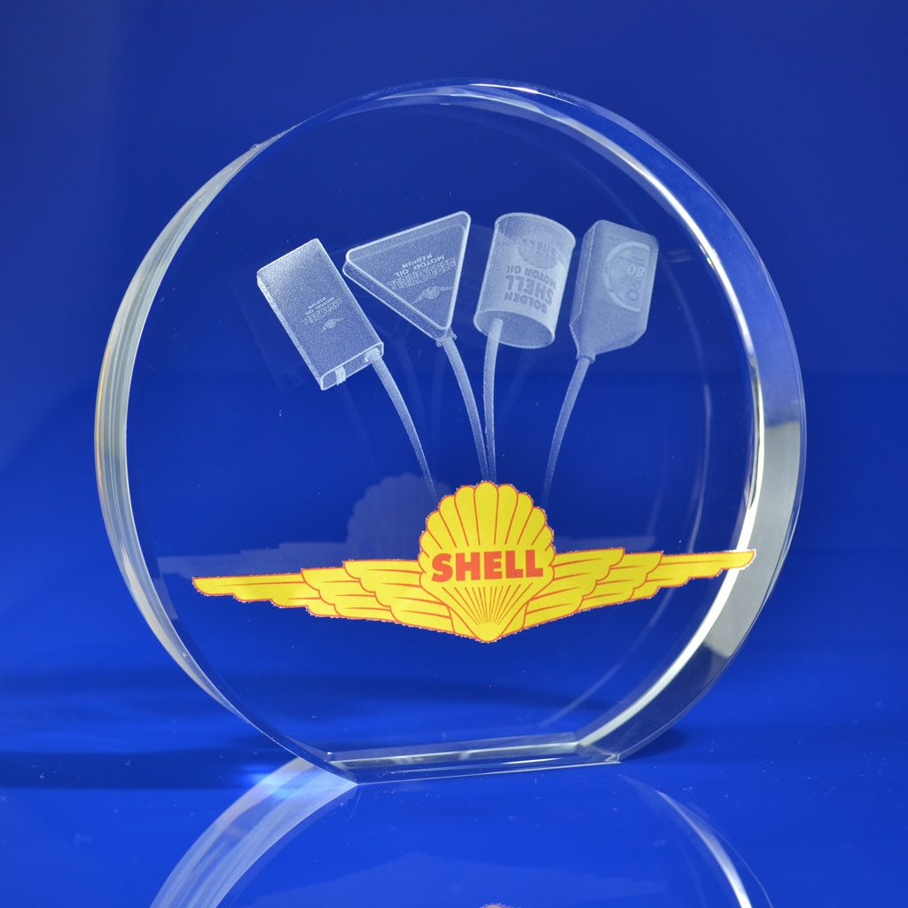 Disc Award with colour print