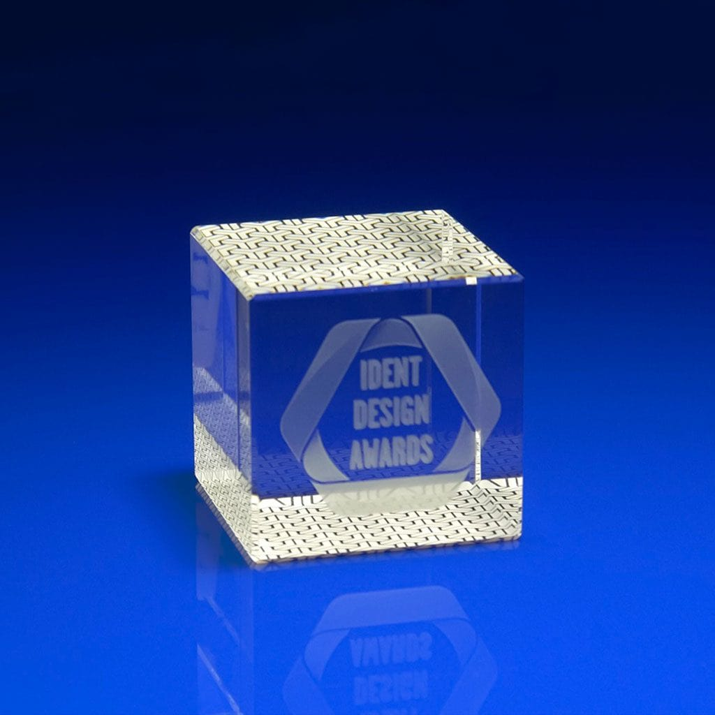 Full Colour Digital Print Awards in Crystal