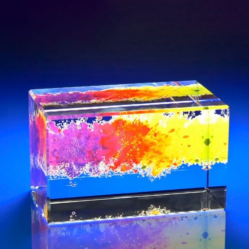 Full Colour Printed Paperweight - add a splash