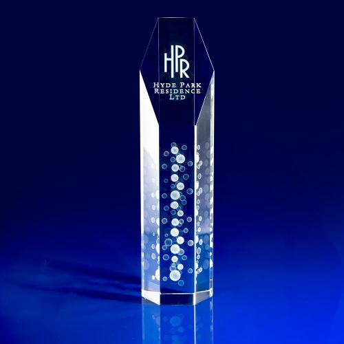 Hexagon Crystal Award - Corporate