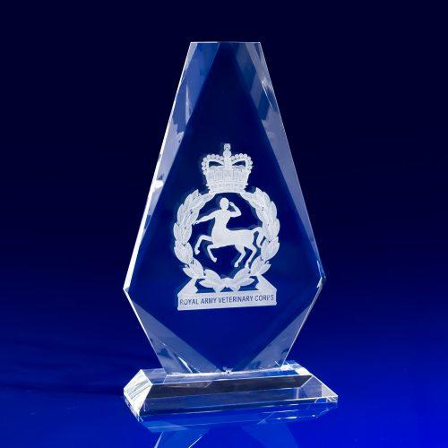 Iceberg Award Crystal Glass