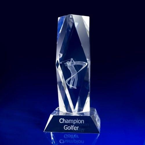 President Bespoke Crystal Awards
