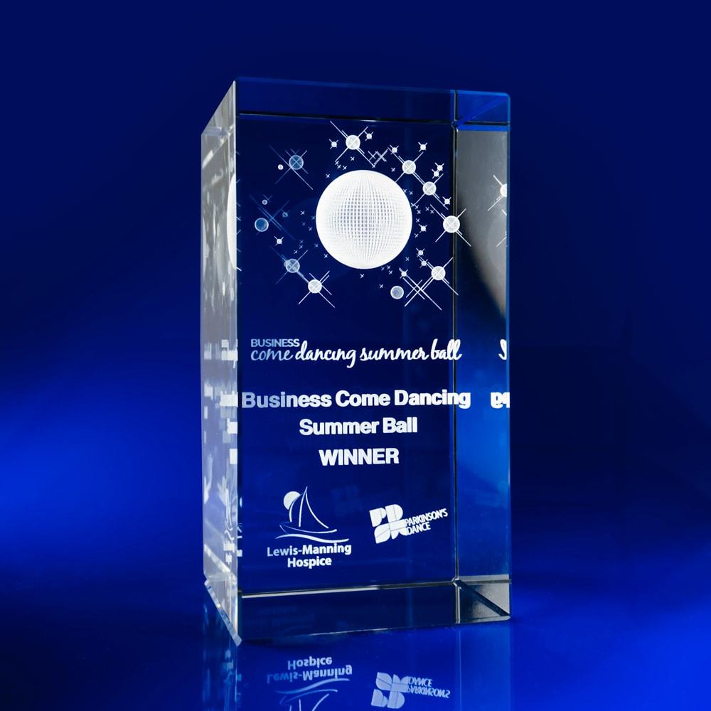 Rectangle Bespoke Awards - Crystal Glass Awards, Corporate Awards, Corporate Giveaways, Corporate branded items, branded gifts, branded giveaways, promotional crystal gifts, crystal giveaways, custom made awards