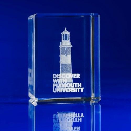 Rectangle Crystal Awards