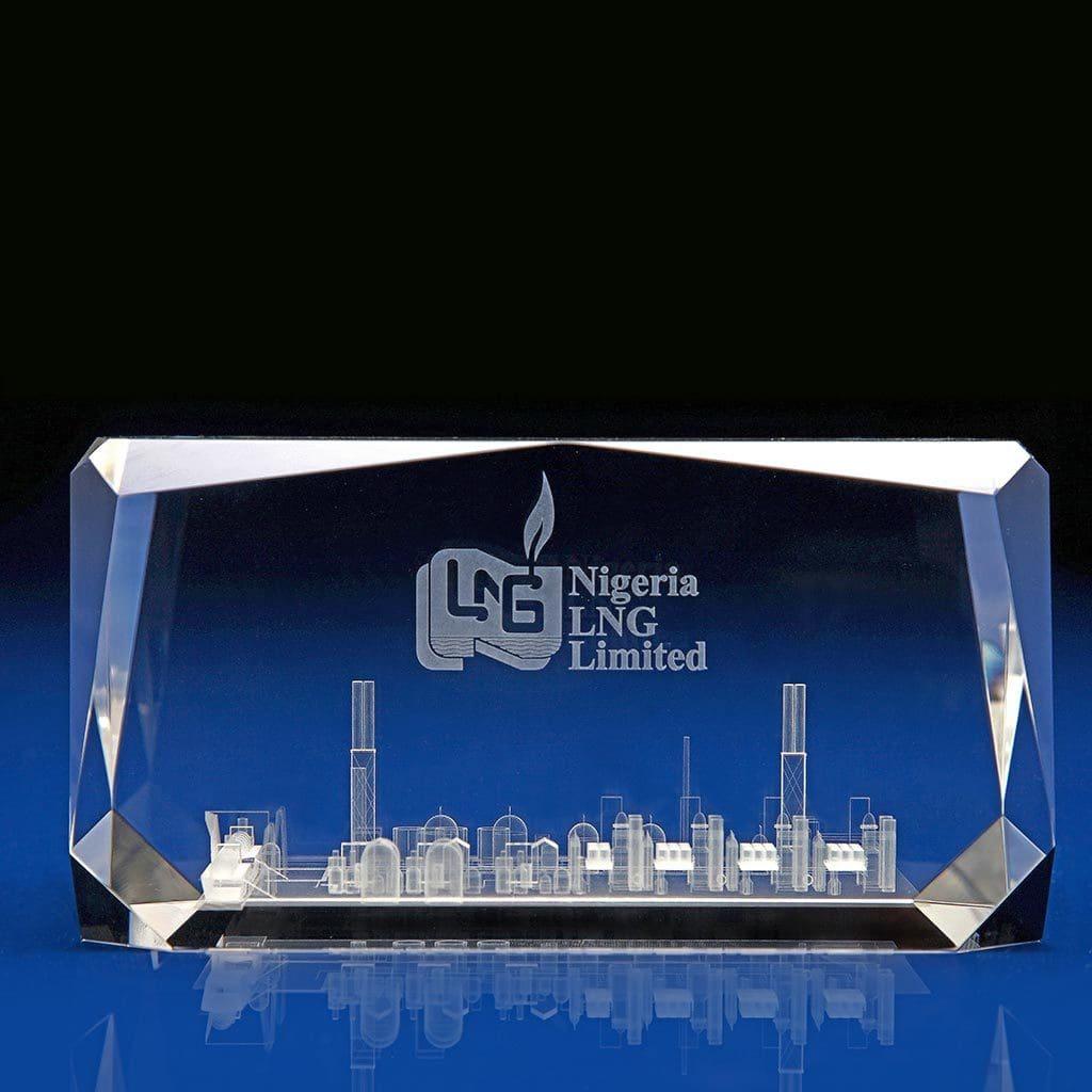 Roma Award, 3D Laser Crystal Art, 3D glass art, Crystal Awards, Corporate Awards, crystal awards, company awards