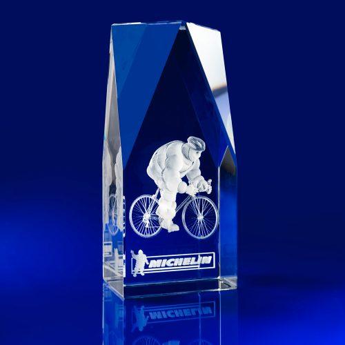 Steeple Awards - Laser engraved crystal