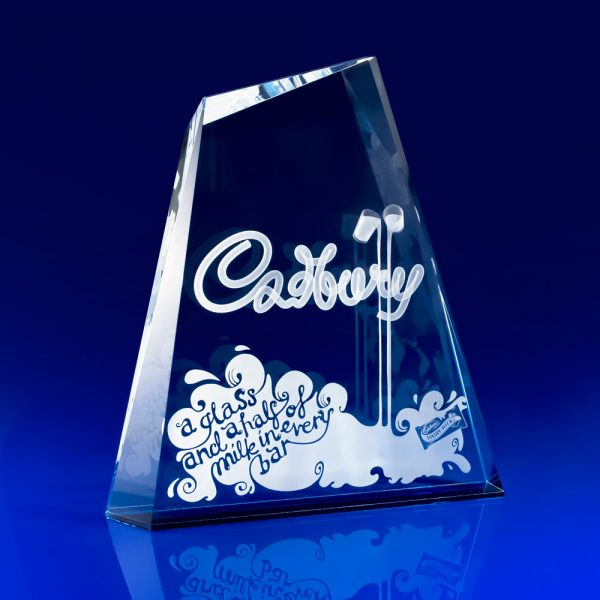 Summit Awards - 3D Crystal Art, personalised crystal trophies, personalised crystal awards, glass trophies, glass art, corporate awards, TV awards