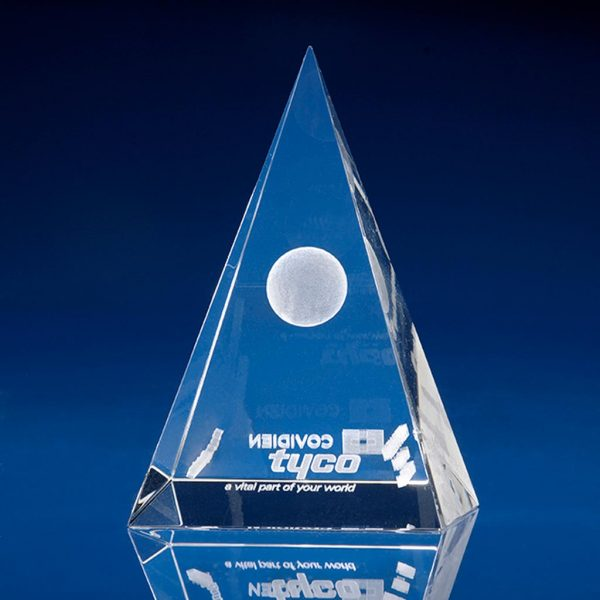 Pyramid Crystal Award