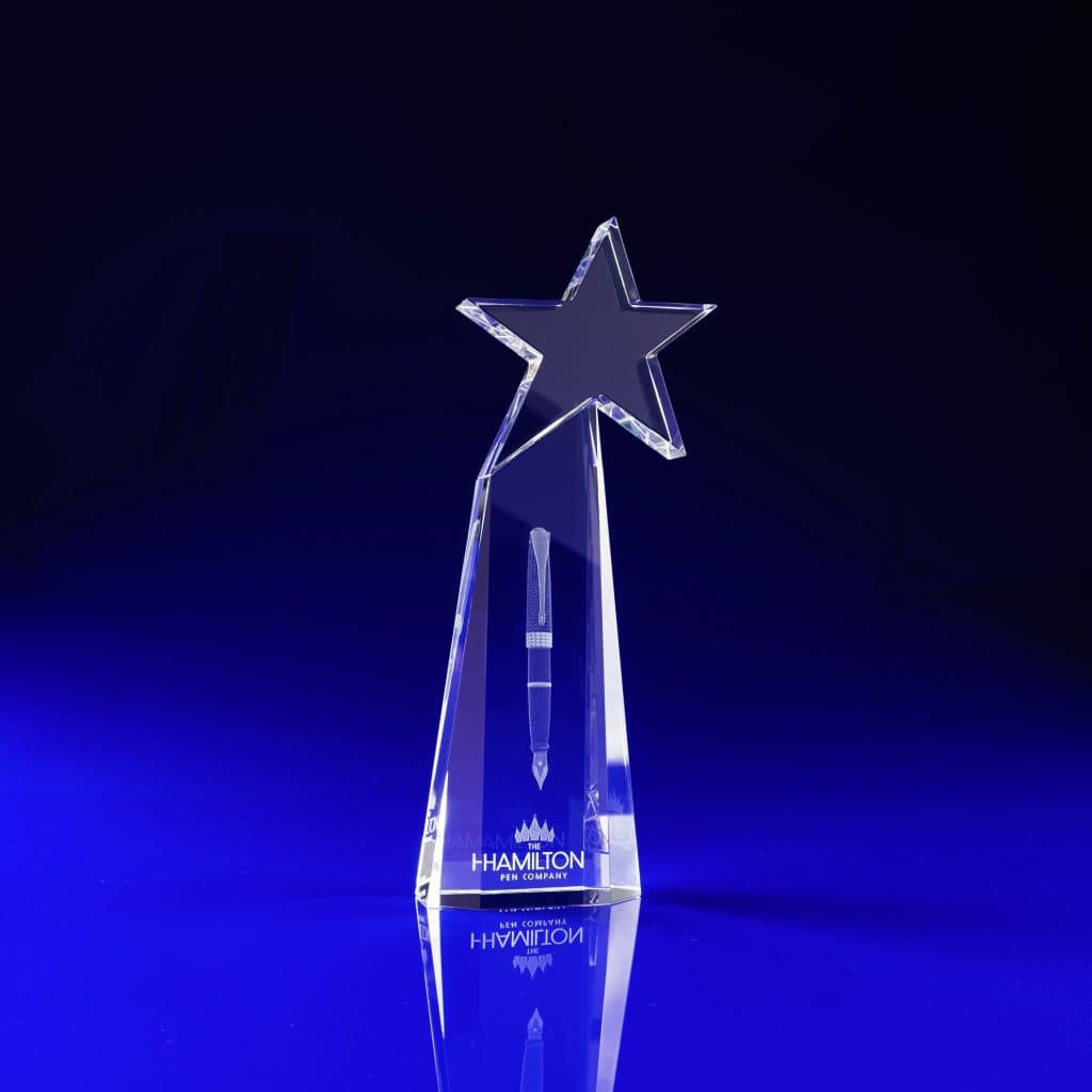 Starburst, Star Award, Crystal Glass Star awards, Staff Awards, Employee Recognition