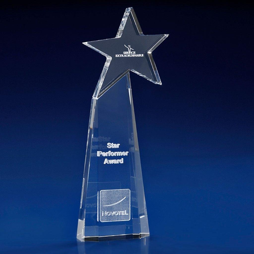 Starburst Award, Crystal Glass Star Awards, Star trophies and awards, crystal star awards, employee awards, all star trophy and awards, star trophies and awards, star shaped trophies, crystal star trophy