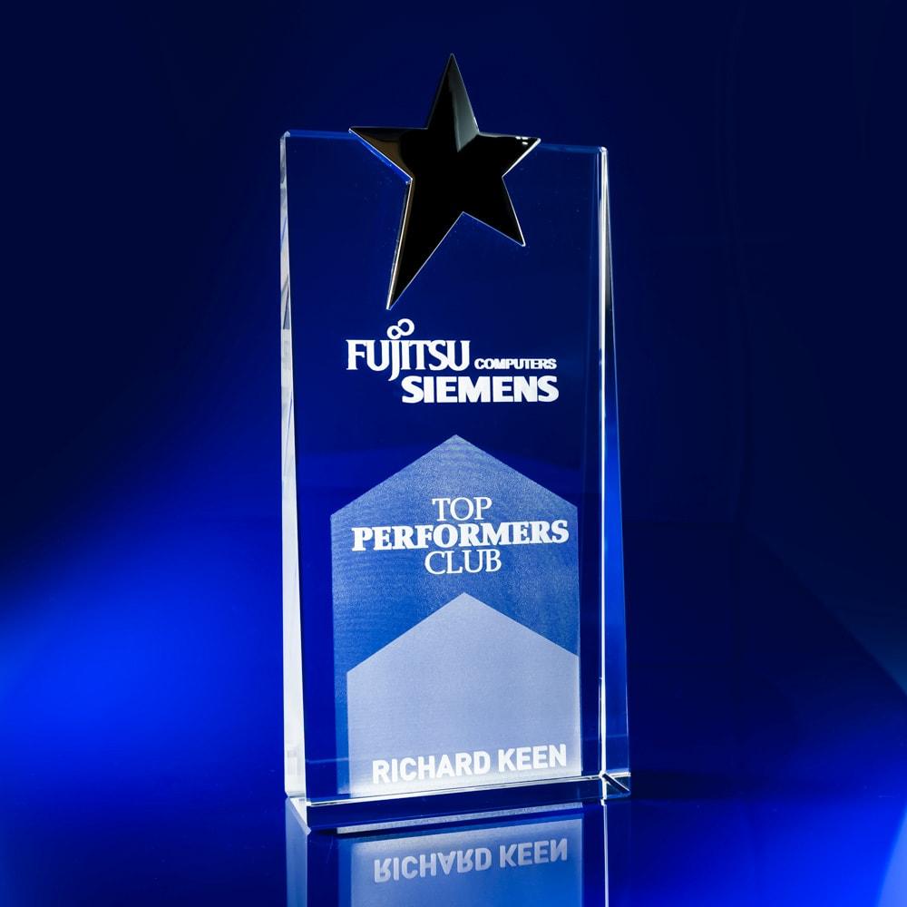 Silver Star Employee Awards, Employee Recognition Awards, star awards