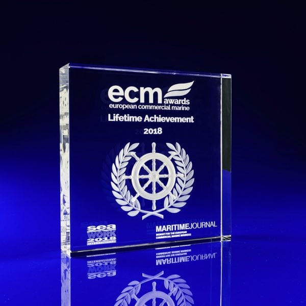 Commercial Marine Awards, Seawork Awards 2018, Crystal Glass Trophy Awards, corporate awards